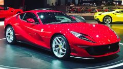 Salone di Ginevra 2017, Ferrari 812 Superfast, vista tre quarti destra