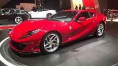 Salone di Ginevra 2017, Ferrari 812 Superfast, vista tre quarti sinistra