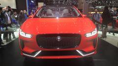 Salone di Ginevra 2017, Jaguar I-Pace Concept, vista anteriore