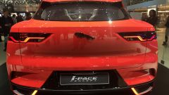 Salone di Ginevra 2017, Jaguar I-Pace Concept, vista posteriore