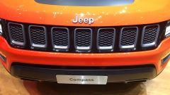 Salone di Ginevra 2017, Jeep Compass, particolare della calandra