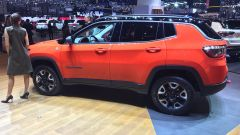 Salone di Ginevra 2017, Jeep Compass, vista laterale