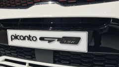 Salone di Ginevra 2017, Kia Picanto GT Line, particolare della calandra