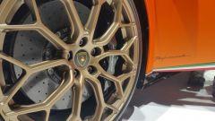 Salone di Ginevra 2017, Lamborghini Huracan Performante, particolare dei cerchi