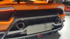 Salone di Ginevra 2017, Lamborghini Huracan Performante, vista posteriore