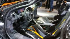 Salone di Ginevra 2017, McLaren 720S, abitacolo