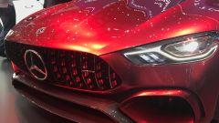 Salone di Ginevra 2017, Mercedes AMG GT Concept, muso