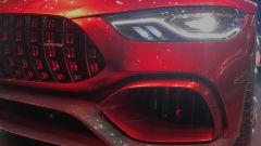 Salone di Ginevra 2017, Mercedes AMG GT Concept, particolari del muso