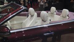 Salone di Ginevra 2017, Mercedes E 400 4Matic, abitacolo