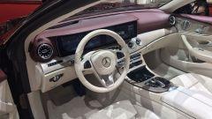 Salone di Ginevra 2017, Mercedes E 400 4Matic, cruscotto