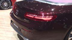 Salone di Ginevra 2017, Mercedes E 400 4Matic, vista posteriore