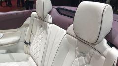 Salone di Ginevra 2017, Mercedes E400 4MATIC, sedili