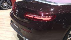 Salone di Ginevra 2017, Mercedes E400 4MATIC, vista posteriore
