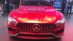 Salone di Ginevra 2017, Mercedes GT Concept, vista anteriore