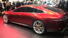 Salone di Ginevra 2017, Mercedes GT Concept, vista laterale