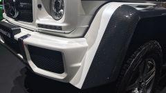 Salone di Ginevra 2017, Mercedes Maybach G 650, particolare frontale