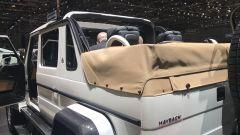 Salone di Ginevra 2017, Mercedes Maybach G 650, vista posteriore