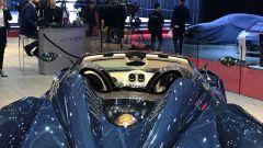 Salone di Ginevra 2017, Pagani Huayra Roadster, abitacolo