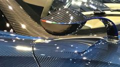Salone di Ginevra 2017, Pagani Huayra Roadster, particolare degli specchi