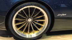 Salone di Ginevra 2017, Pagani Huayra Roadster, particolare dei cerchi