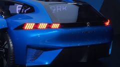 Salone di Ginevra 2017, Peugeot Instinct Concept, particolare posteriore