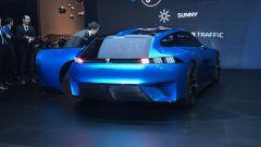 Salone di Ginevra 2017, Peugeot Instinct Concept, vista posteriore