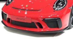 Salone di Ginevra 2017, Porsche 911 GT3, particolare spoiler anteriore