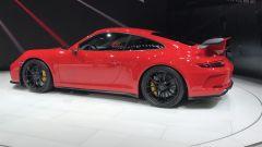 Salone di Ginevra 2017, Porsche 911 GT3, vista laterale sinistra