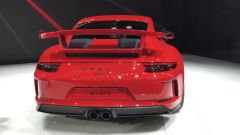 Salone di Ginevra 2017, Porsche 911 GT3, vista posteriore