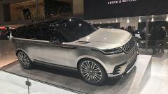 Salone di Ginevra 2017, Range Rover Velar, vista tre quarti anteriore