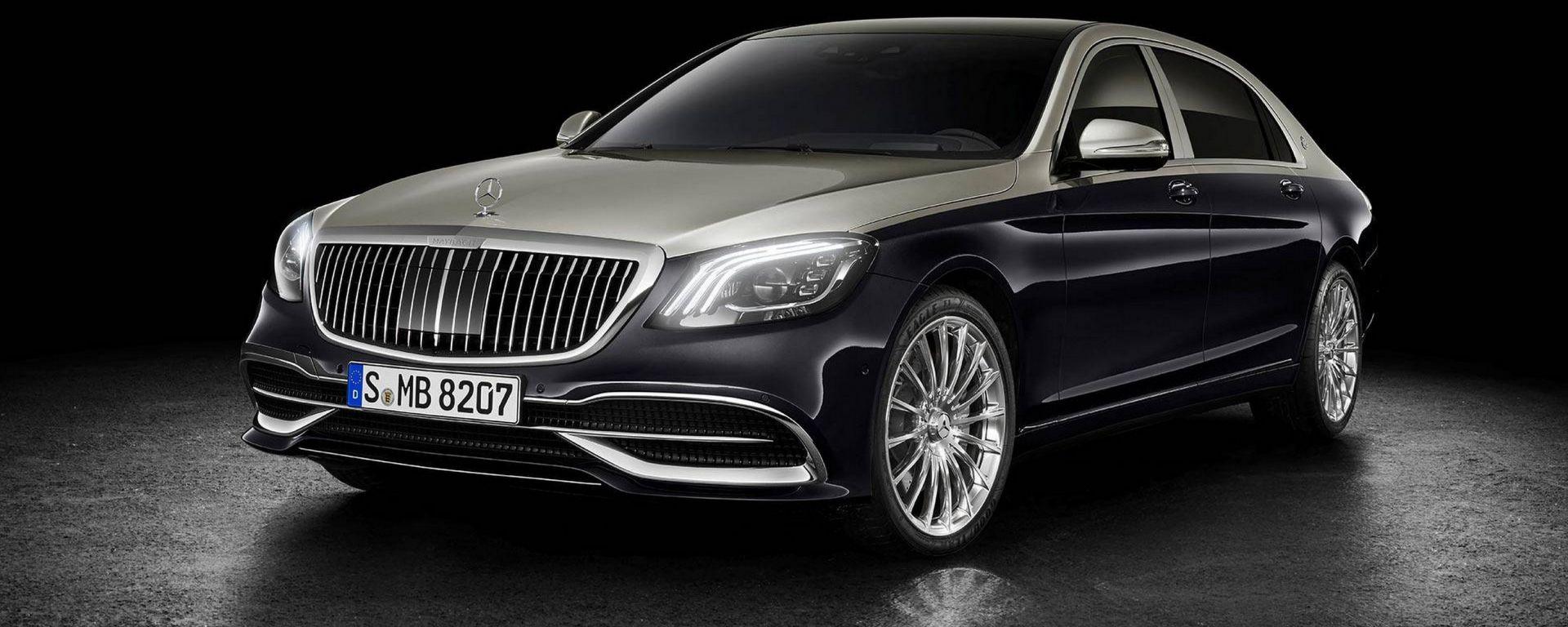 Mercedes Classe S Maybach: il restyling al Salone di Ginevra