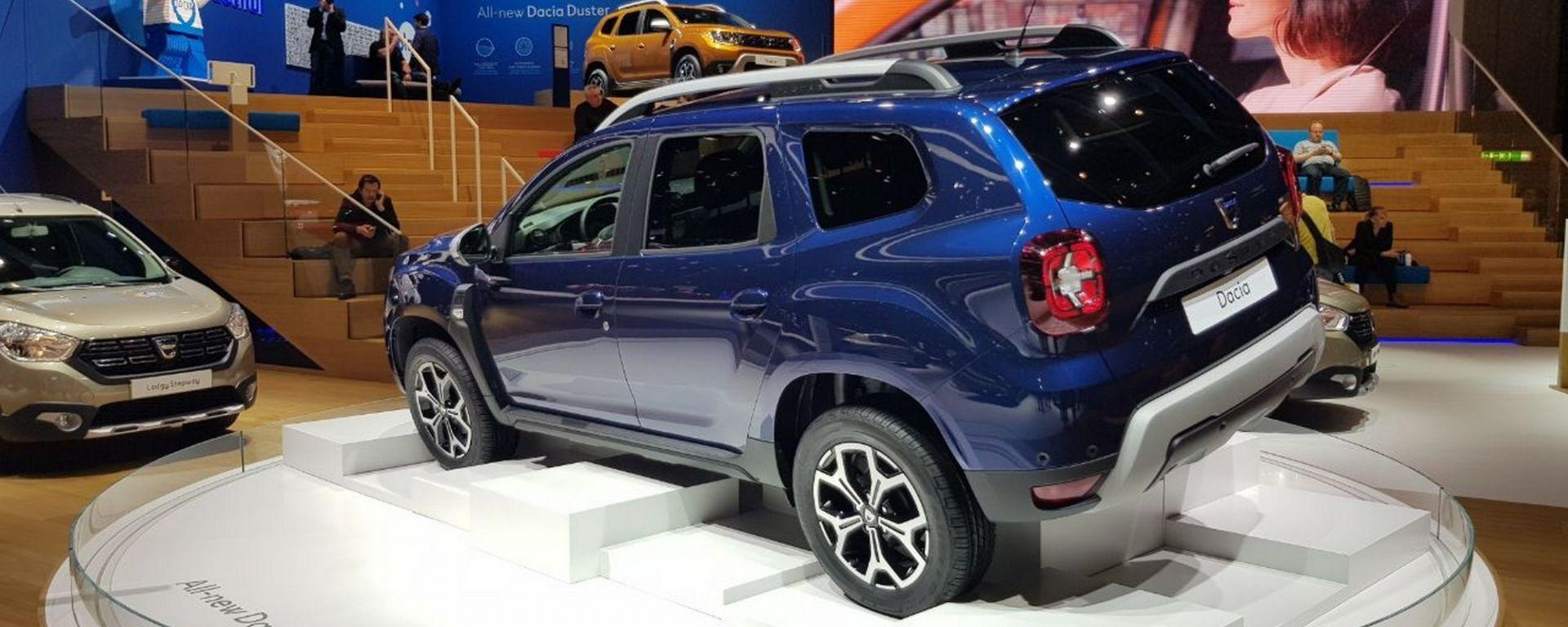 Salone di Ginevra 2018: le novità allo stand Dacia