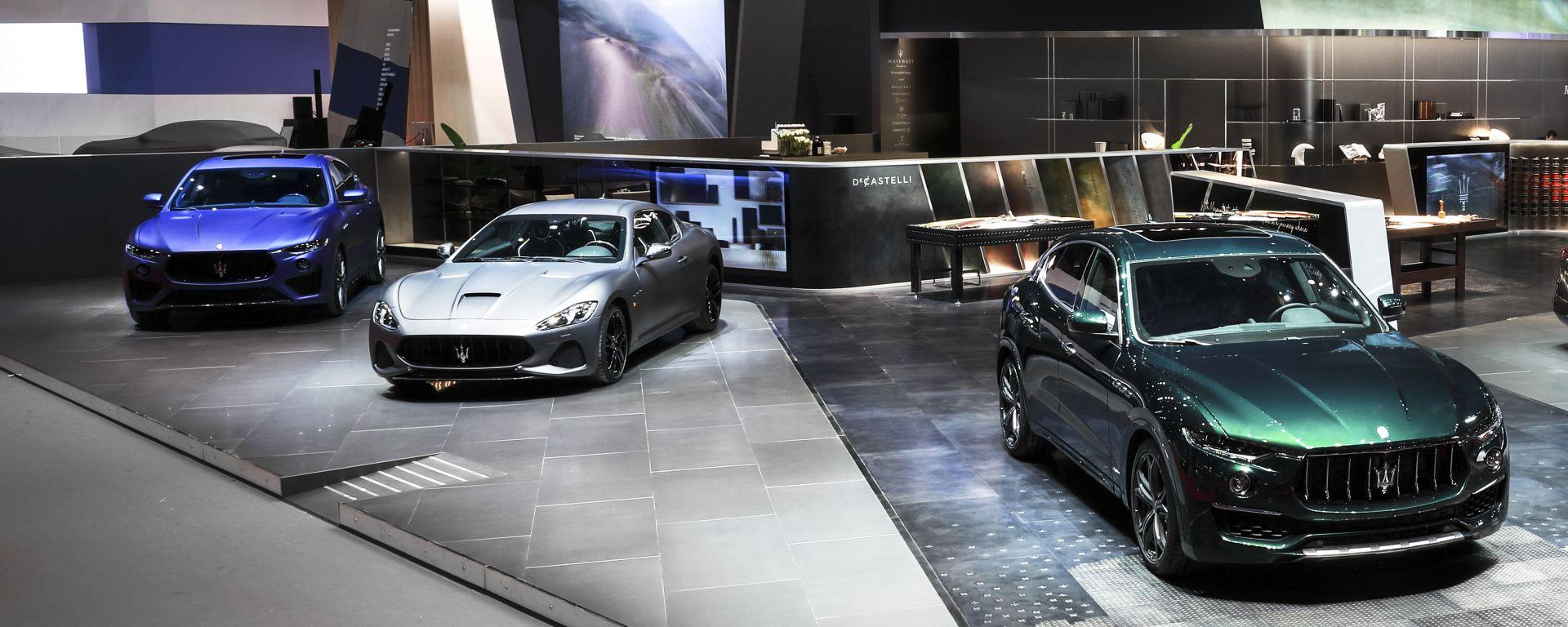Salone di Ginevra 2019, lo stand Maserati