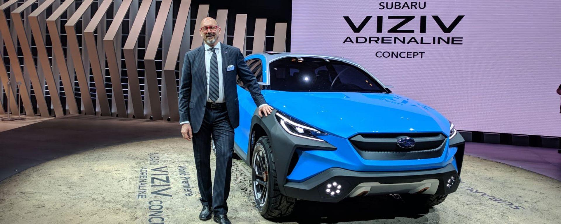 Salone di Ginevra 2019, le novità allo stand Subaru