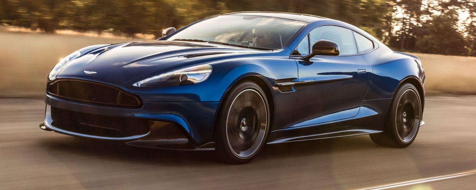 Aston Martin Vanquish S: 600 cv per la nuova Vanquish top