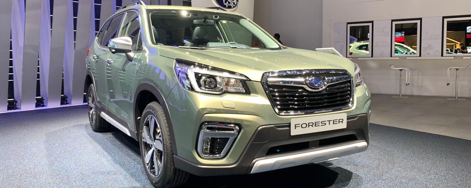 Nuova Subaru Forester: la prima volta dell'ibrido con l'e-boxer