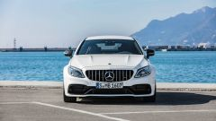 Mercedes-AMG C63 S: il restyling porta 510 CV a New York - Immagine: 10
