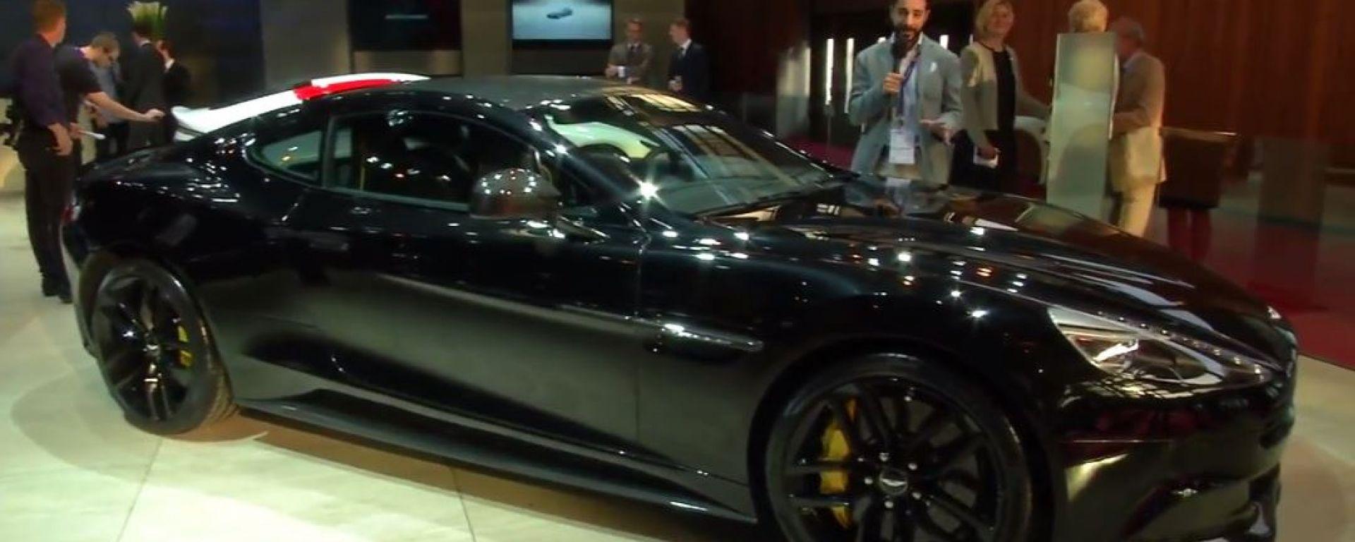 Salone di Parigi 2014, lo stand Aston Martin