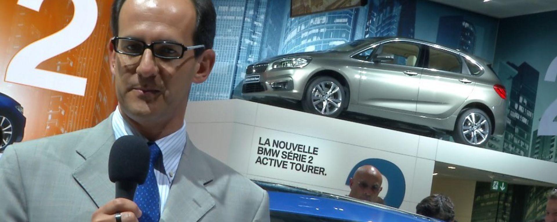 Salone di Parigi 2014, lo stand BMW