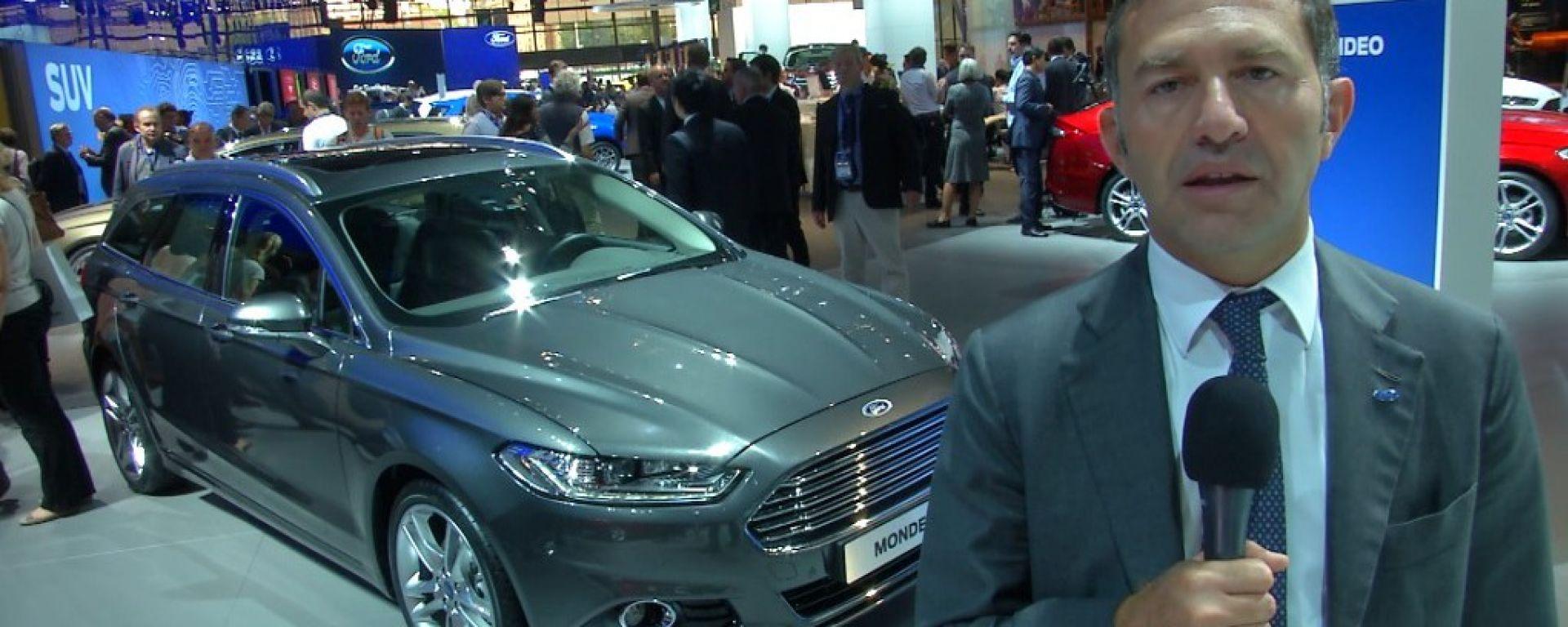 Salone di Parigi 2014, lo stand Ford