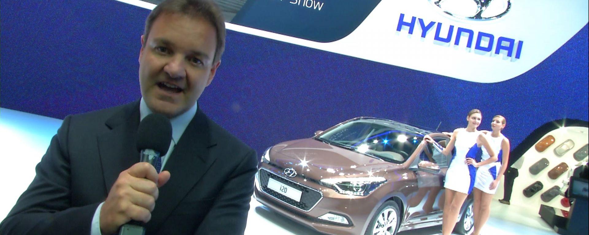 Salone di Parigi 2014, lo stand Hyundai