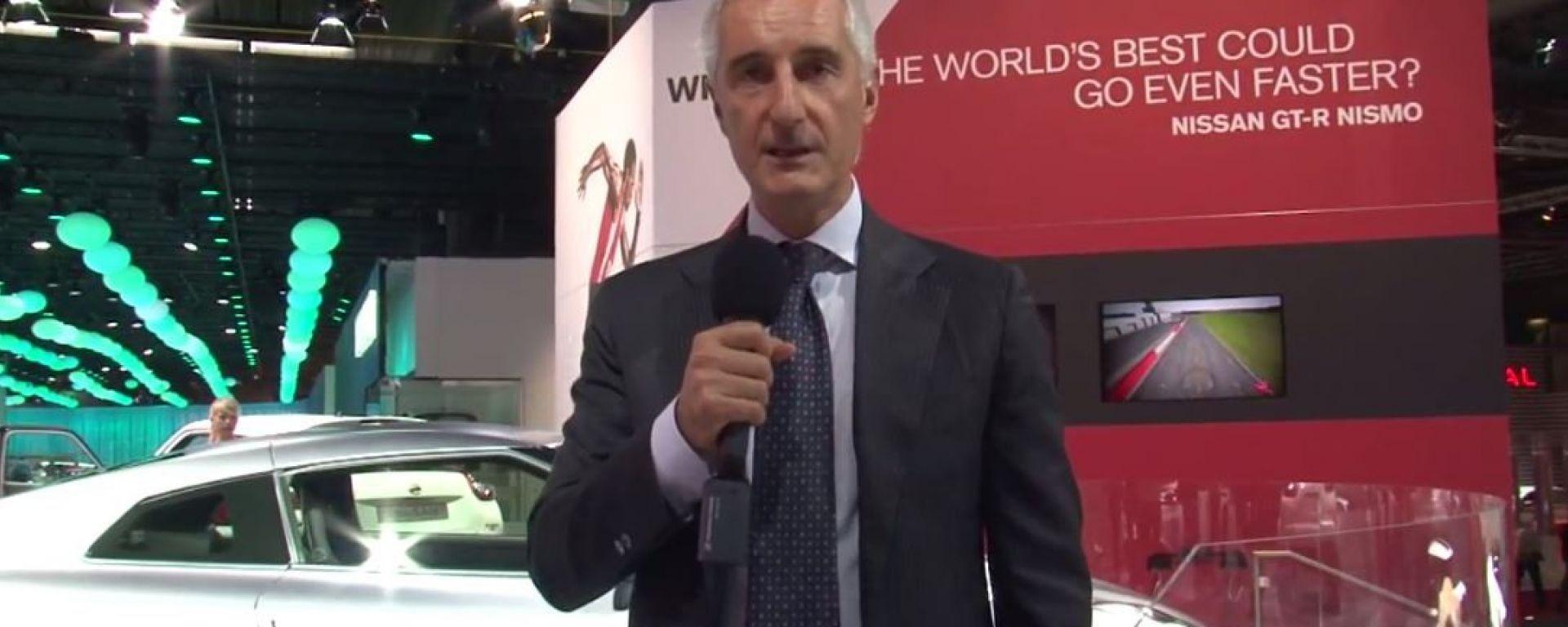 Salone di Parigi 2014, lo stand Nissan