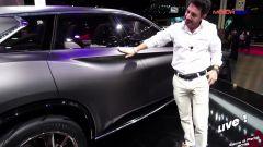 Salone di Parigi 2016. Infiniti QX Inspiration Concept e motore VC-T