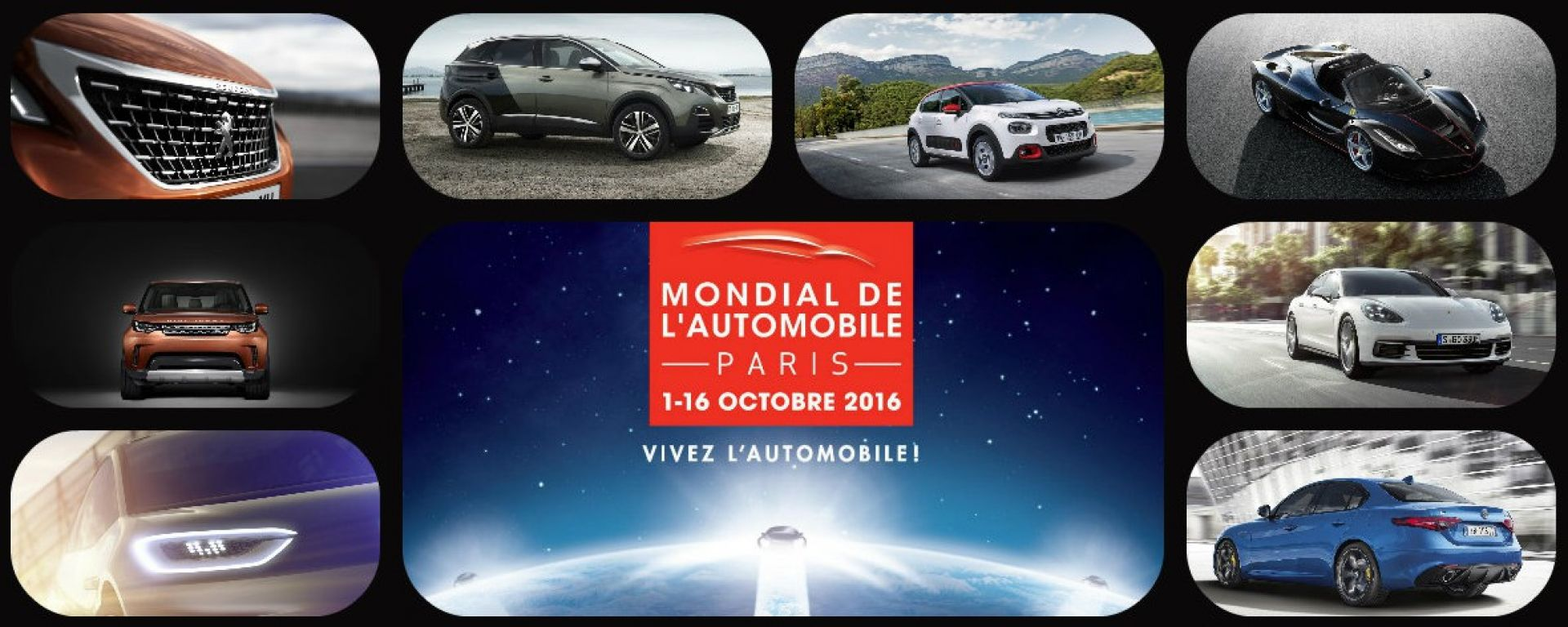 Salone di Parigi 2016: le novità