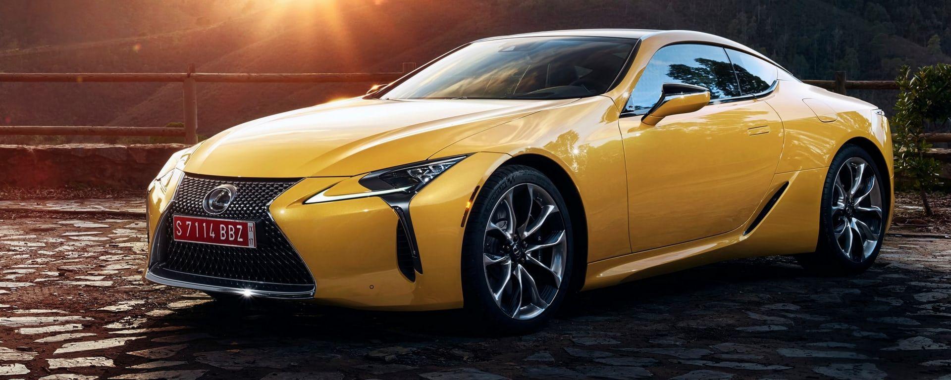 Salone di Parigi 2018: ecco la Lexus LC Yellow Edition