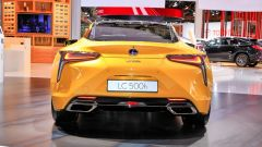 Lexus LC Hybrid Yellow Edition: le foto live da Parigi 2018 - Immagine: 5