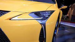 Lexus LC Hybrid Yellow Edition: le foto live da Parigi 2018 - Immagine: 10
