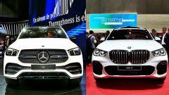 Salone di Parigi 2018, nuova Mercedes GLE vs nuova BMW X5