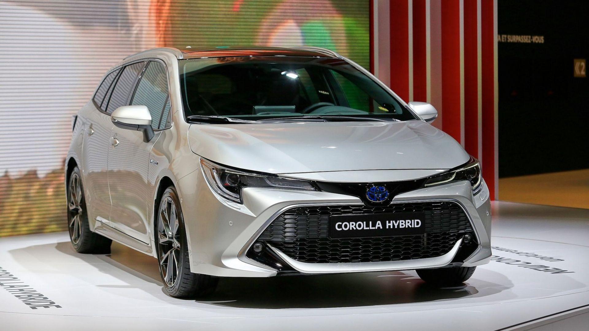Toyota Corolla 2019 картинки