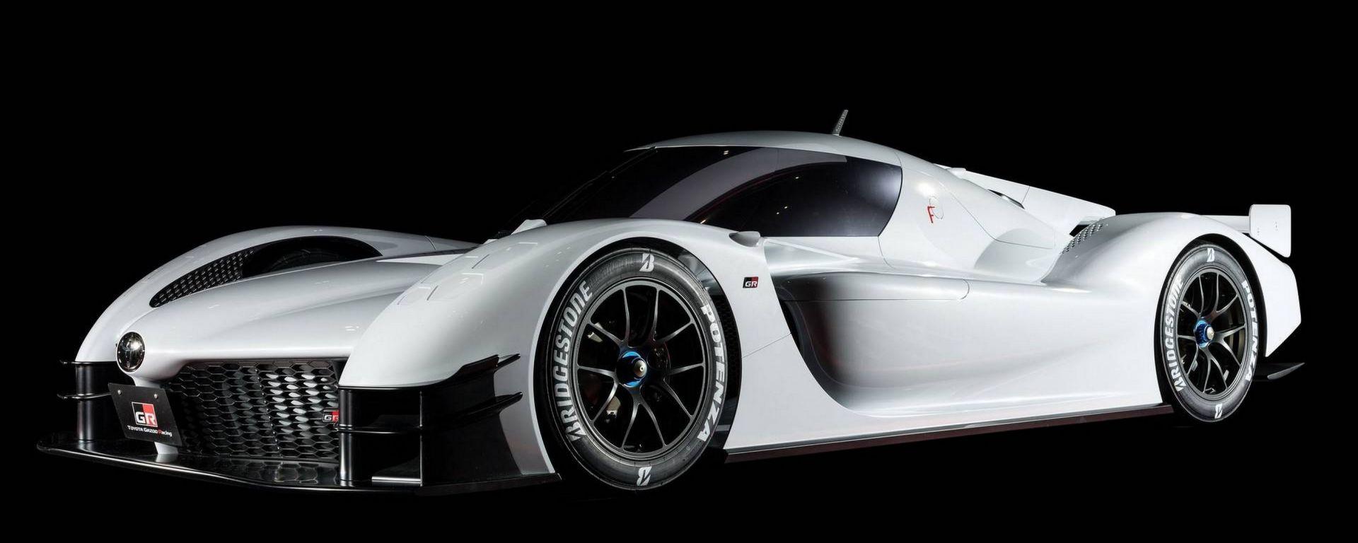 Toyota GR Super Sport Concept, LMP1 stradale